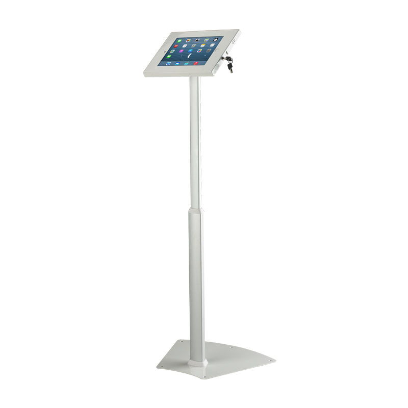 Exhibition Stand Vat : Locking ipad stand floor standing holder for